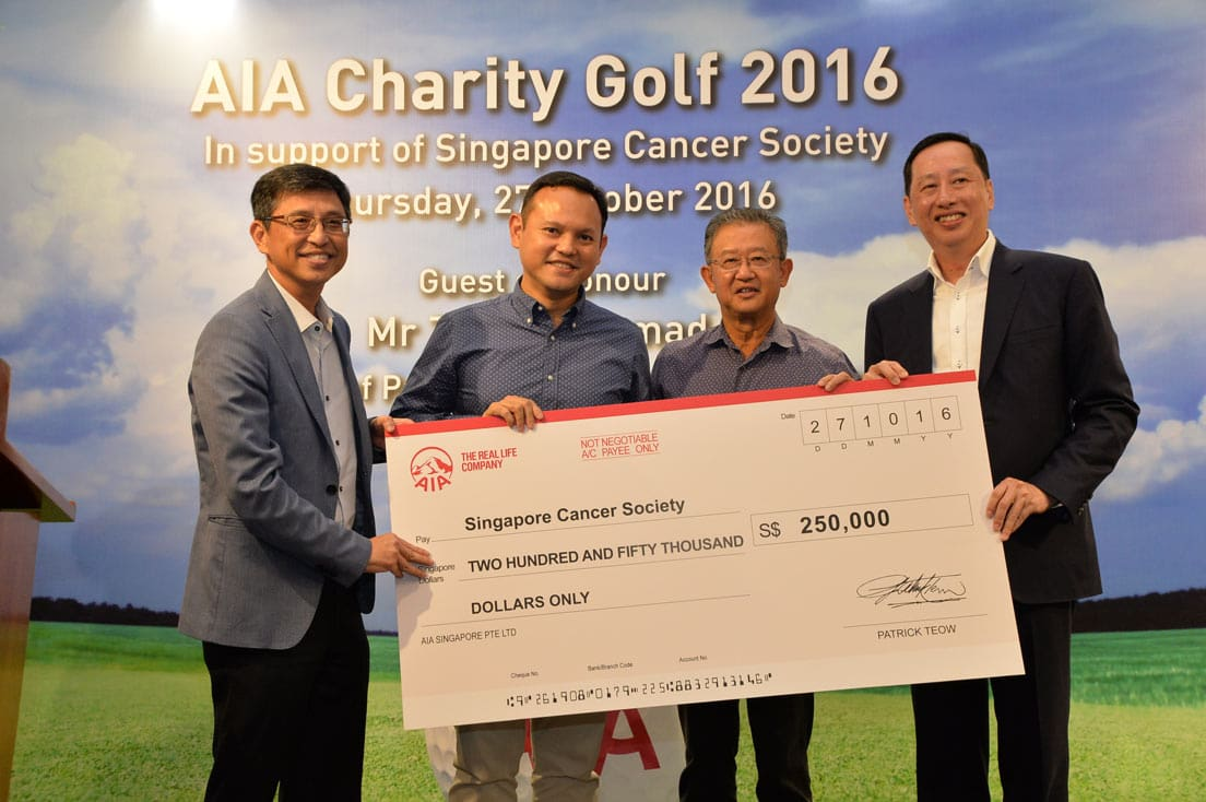 AIA Charity Golf 2016