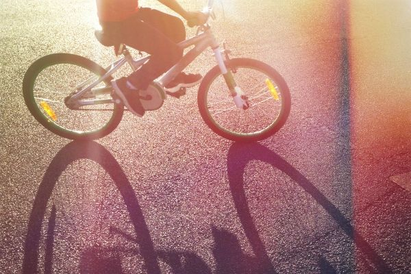 Accident Insurance – Bicycle in Shadow