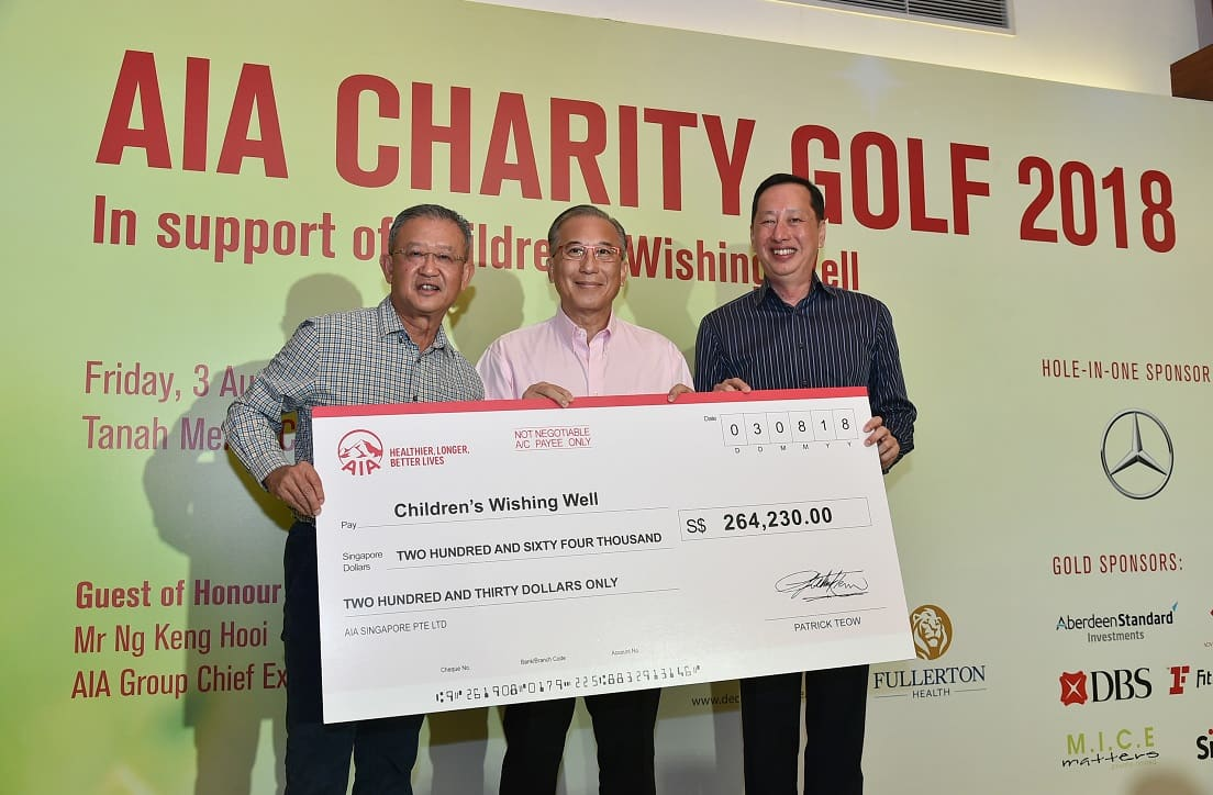 AIA Charity Golf 2018