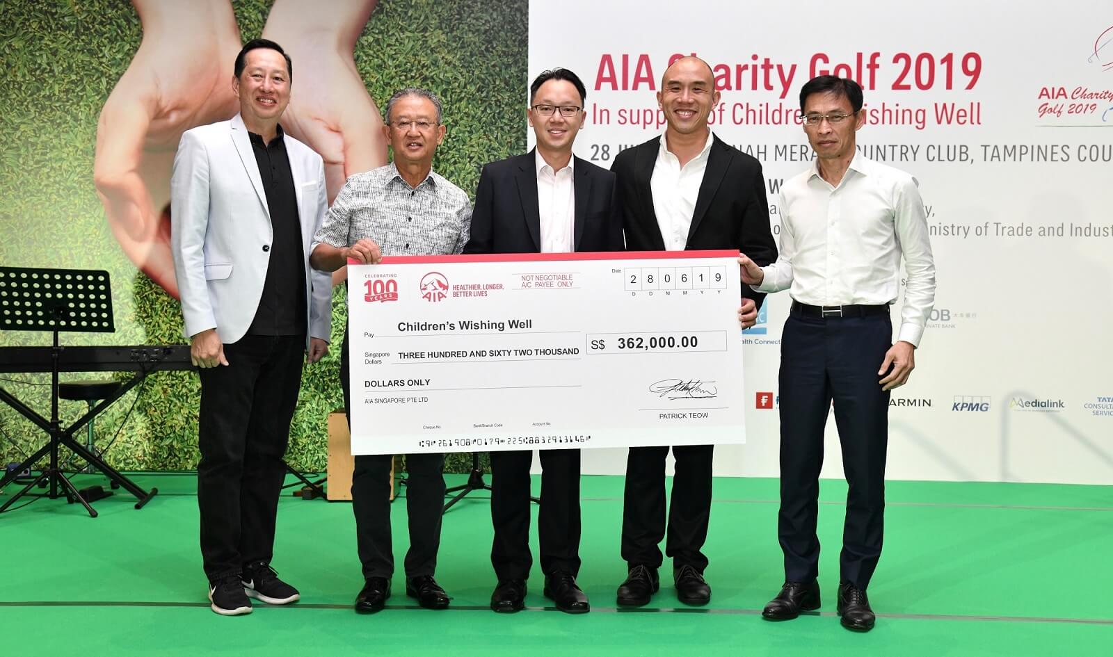 AIA Charity Golf 2019 Group Photo
